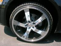 "22"" Vagare' Luxury Rims. V15 Smack 5 Chrome with"