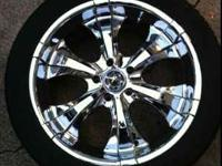 22 inch wheels 5 lug came off my Lincoln navigator.