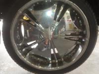 "22"" Verde Wheels for sale. I took them off of a 1999"