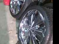 "I have 4 22"" cabo wheels with lexani tires.They are"