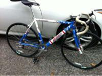 Road bike for sale with indexed shimano sora shifters