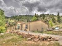 7.81 Acres for room to spread out. Has incredible views