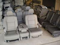 NEW - unused Complete set two bucket Seats with Middle