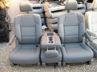 New unused Complete Set 2 Bucket Seats with middle seat
