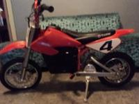 Razor MX500 Dirt Rocket Electric Motocross Bike IN