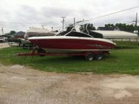 This boat is in really excellent condition has a couple