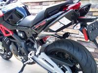 This motorcycle carries a 2 year-unlimited