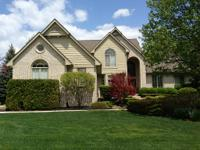 Coveted Bradford of Novi luxury home with initial floor