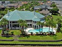 Stately Waterfront Mediterranean Villa! Truly a