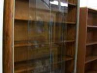 "Display cabinet Price: $200.00 Size: 14x48x82.5"" This"