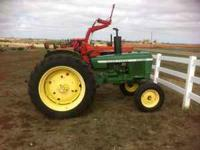 POWER STEERING THREE POINT PTO 863 HRS GOOD TIRES