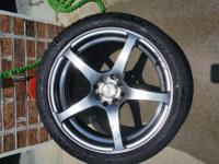 I have for sale 4 225 40 18 wheels and tires im askin
