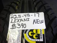 I Have A Collection Of 4 (225-45-17) LEXANI NEW