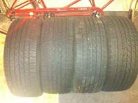 225/45/R18 studless winter toyo tires. Fits a 2007 RX8