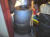225/5015 mastercraft 4 good, used tires, bought them