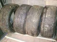 Ive got a set of Cooper car tires that are 225/55/16s