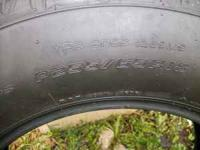"used pair""goodyear"" Fortera 225/65/18 tires approx 50%"