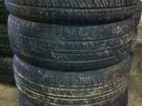 Up for sale is a matched set of 4 Geostar tires that