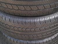 Hello viewers i am here selling. 4 225/65/16 tires for