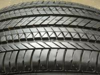 FREE DELIVERY BY FED EX!!! FOUR USED Bridgestone Ecopia