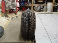 Set of 4 Firestone Winterforce snow tires. 225-70-16.