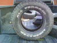 Good used set of tires. I have all four and they have