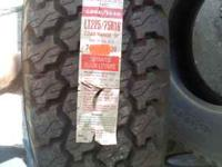 I have a pair of 225/75/16 GoodYear Wrangler tires that