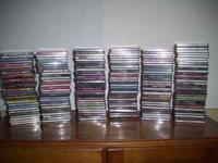 225 cds from all types of music, classical, country,