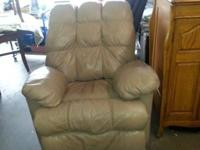 leather recliner , good condition. For more information