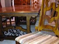 I am selling my beautiful dinning room set *Imported