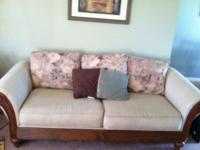 This is a very nice sofa and love seat from a