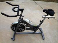 This is a Spinner Sport spin bike. For all the info,