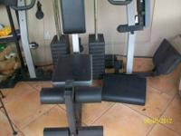 I am selling my Weider 4850 Pro workout system due to a
