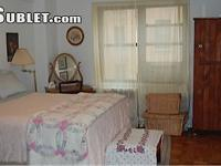 Large, bright, nicely furnished master bedroom in
