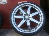 TIRES & MORE 2253020 USED WHEELS + NEW TIRES 750$ OBO