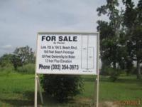 PRICE REDUCED WATERFRONT LOT - WAVELAND, MS. GULF FRONT