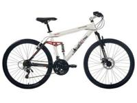 Genesis V2100 26 Men's Dual-Suspension Bike White Brand