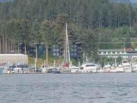 Beautiful view from this Auke Bay waterfront condo. Two