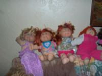 Doll are in good condition, will negotiate some with