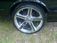 I have a set of 22 x 9 chrome iroc rims for sale with