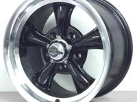 BRAND NEW SET REV CLASSIC 100 22X8 GUNMETAL / MACHINED