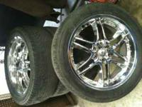 "I have 22"" chrome wheels for sale asking 600 OBO, Call"