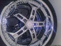 "I have a set of 22"" rims with tires for sale. Just in"