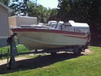 1978 starcraft open bow boat 22 ft evinrude 135