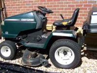 This mower runs good and mows good. Comes with a