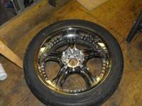 22 inch rims and tires off a 2005 Ford F-150. Tires