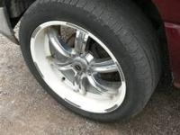 "22""rims with tires chevy 6 lug  500 obo text Jeremy @"