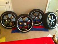 I HAVE SOME 22 INCH METAL FX OUTLINE RIMS. THEY ARE