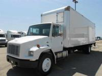 2004 Freightliner M 2 with a 26' van body. Mileage is