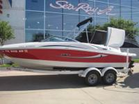 2008 Sea Ray 195 SPORT This boat is sleek, fast and